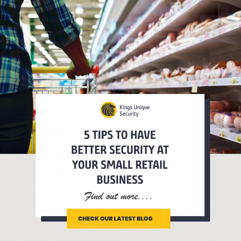 5 Tips to have better Security at Your Small Retail Business