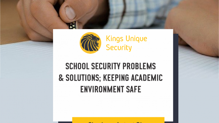 School Security Problems And Solutions: Keeping Children Safe In Education