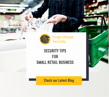 SECURITY TIPS FOR SMALL RETAIL BUSINESS